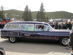 Hearse in parade FDGD 2011