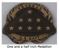 1.5 inch medallion