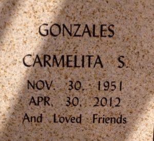 Carmelita Conzales and 17 cats