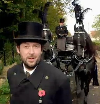Michael Smith on a BBC program about British funeral traditions