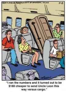 Close to Home Airplane Casket