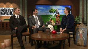 L to R: Buck Dyck, Tom Antram and Gail Rubin