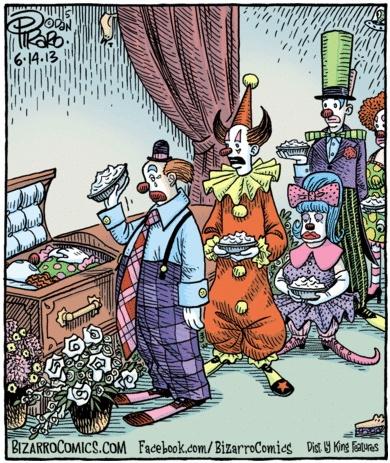 Bizarro Clown Funeral