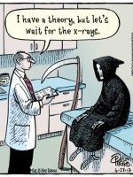Bizarro Death at Doctor Office