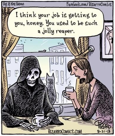 Bizarro ex Jolly now Grim Reaper