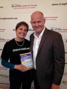 Gail Rubin and Glenn Morshower