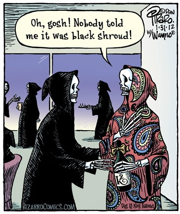 Reaper Fashion Bizarro