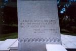 Frank Lloyd Wright Mausoleum Quote