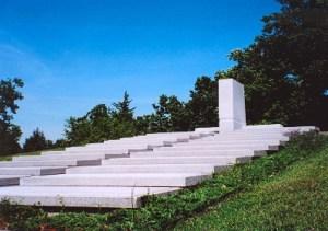 Blue-Sky Mausoleum by Frank Lloyd Wright