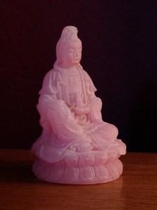 Quan Yin, the Chinese goddess of mercy