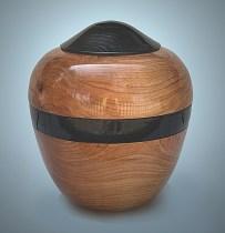 Wooden Urn Elegance