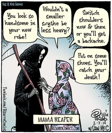 Bizarro Mama Reaper