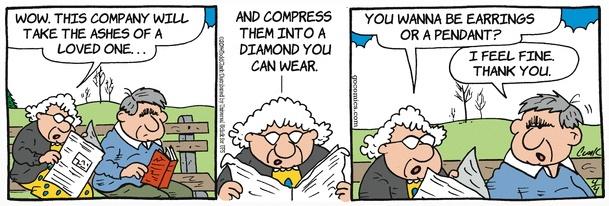 Lola cremation diamonds