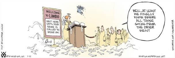 Non Sequitur Limbo Cartoon
