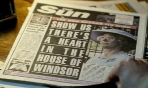 The Queen The Sun newspaper