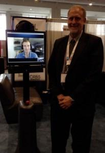 Steve Gray of Orbis Robotics and CARL