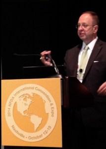 Brad Speaks at NFDA