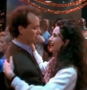 Groundhog Day: Bill Murray and Andie MacDowell