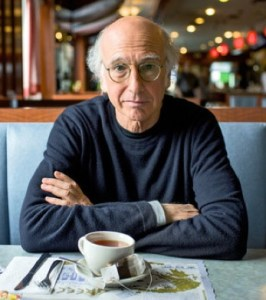 Larry David photo by Benjamin Norman for the NY Times