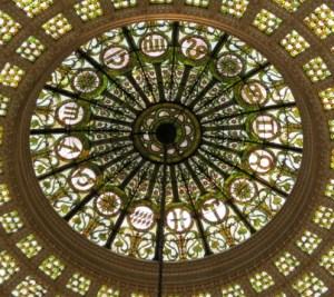 Stained Glass Zodiac