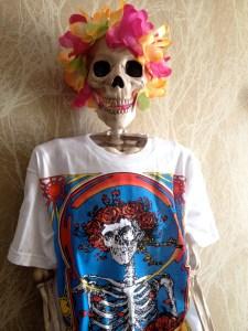 Lola, the Albuquerque Death Cafe mascot