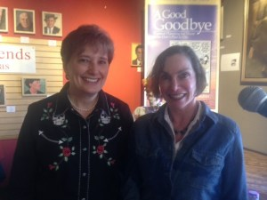 Gail Rubin (L) and Ellen Dupuy at Journey Santa Fe