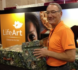 Andy Brown with LifeArt