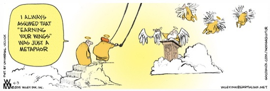 Non Sequitur earning wings