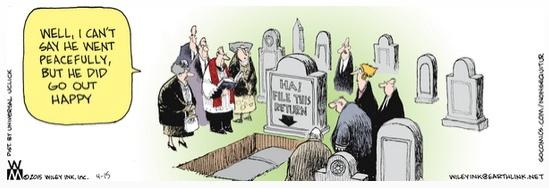 Non Sequitur cemetery tax return