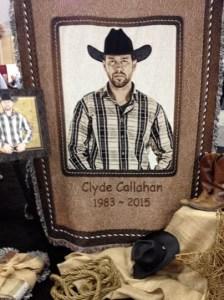 Clyde Callahan tribute blanket