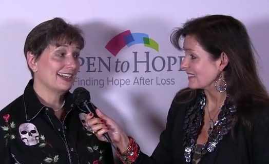 Gail Rubin, CT, talks with Dr. Heidi Horsley from the Open to Hope Foundation