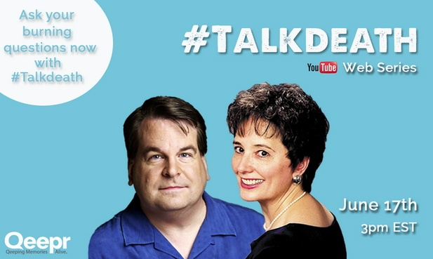 Qeepr #TalkDeath Roundtable with Gail Rubin and Chris Raymond