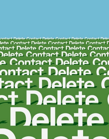 Contact Delete by  Javier Jaen