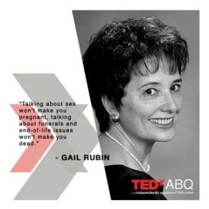 TEDxABQ Gail Rubin2