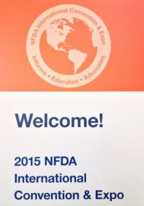 NFDA Welcome Sign