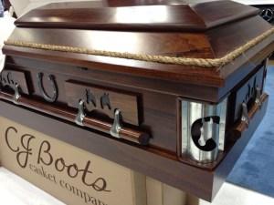 C.J. Boots Horse Casket