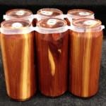 Wood Six Pack Urn