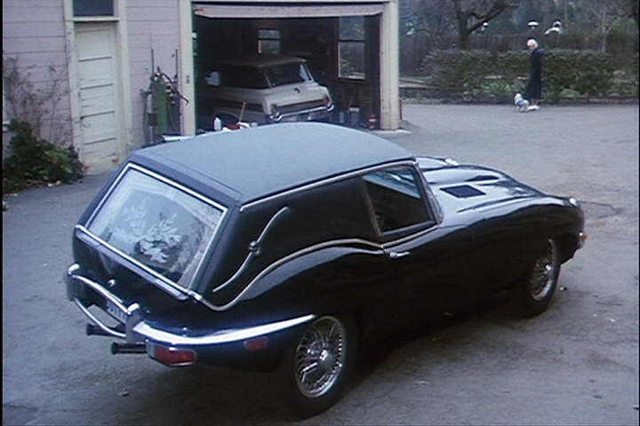 A Real Jaguar Hearse from 'Harold and Maude' | A Good