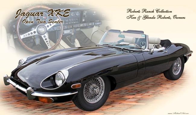 Jaguar XKE Roadster original