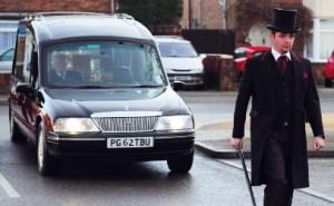 Modern English funeral