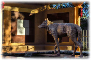 Lobo Statue