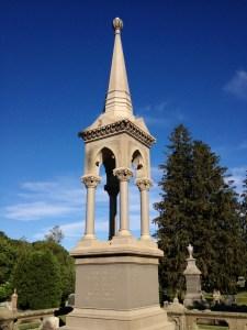 Cemetery memorial tower