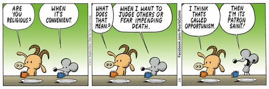 Pearls Before Swine on religion