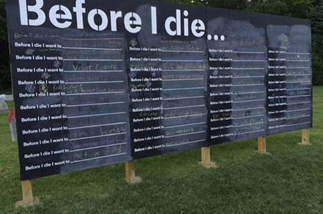 Before I Die Wall Crown Hill