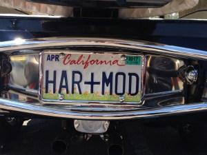 Jaguar hearse license plate