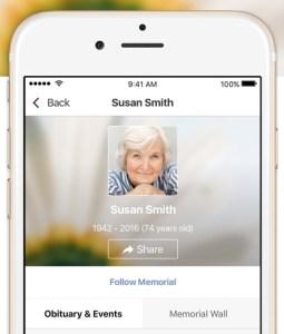 Requiem app on phone