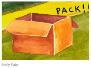 NY Times Packing Illustration