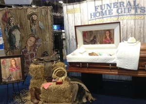 Funeral Home Gifts display