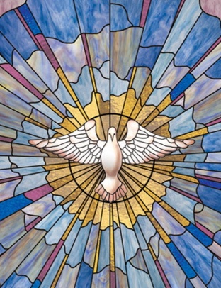church window film dove image - How To Make Stained Glass Windows