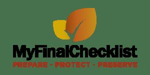 My Final Checklist